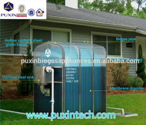 биогазовая установка китай